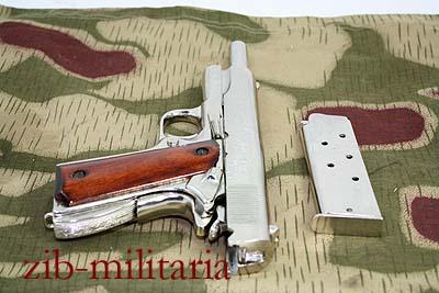 US Colt 1911 Government, vernickelt